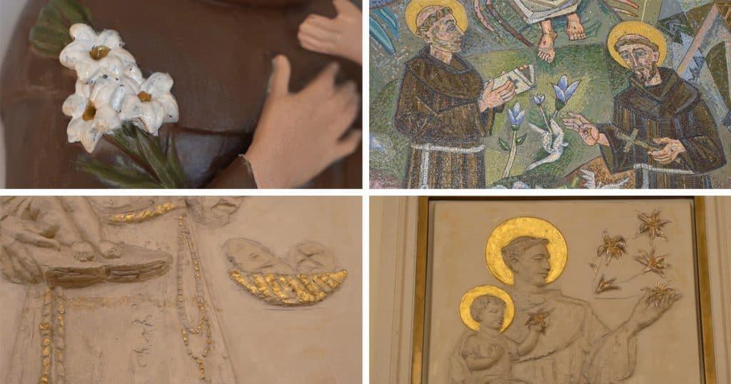 simboli svetog antuna padovanskog