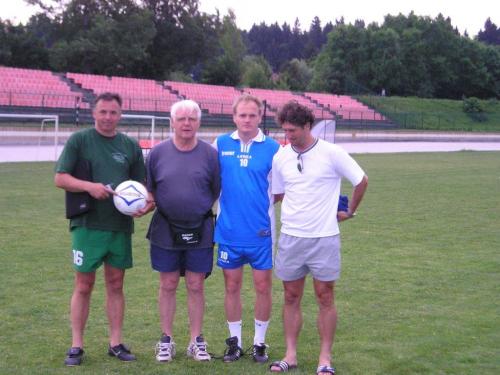 Na PRO školovanju s trenerom B. Elsnerom 2003. godine
