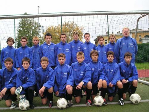 S NK Naftom U14 2003. godine