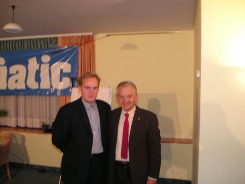 S trenerom Ivićem 2003.godine