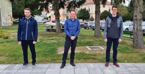 Mentori Marin Drabic, Dejan Drabic, Viktor Lazar (1)