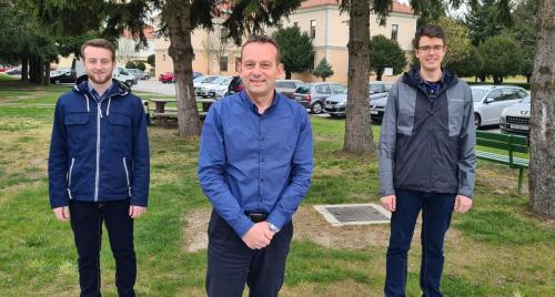 Mentori Marin Drabic, Dejan Drabic, Viktor Lazar (2)